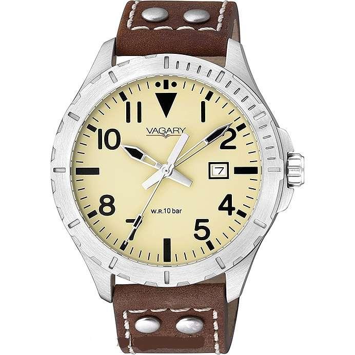 orologio solo tempo uomo Vagary By Citizen IB6-116-90