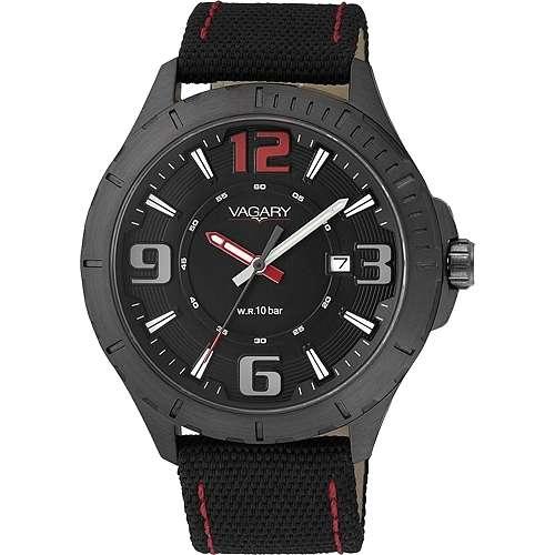 orologio solo tempo uomo Vagary By Citizen IB6-141-50