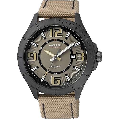 orologio solo tempo uomo Vagary By Citizen IB6-141-90