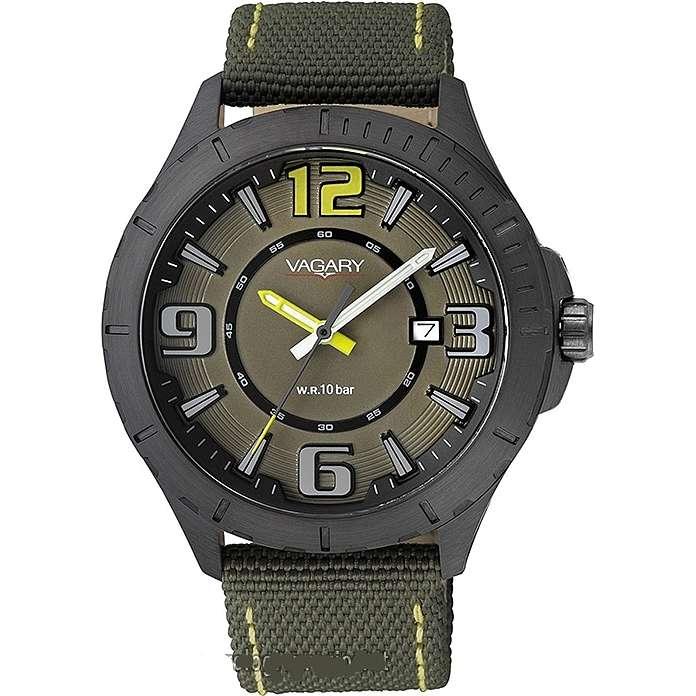 orologio solo tempo uomo Vagary By Citizen IB6-141-92