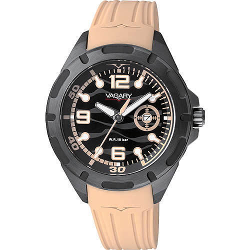 orologio solo tempo uomo Vagary By Citizen VE0-647-56
