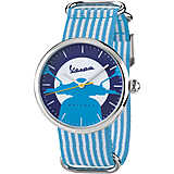 orologio solo tempo uomo Vespa Watches Irreverent VA02IRR-SS01BLCT