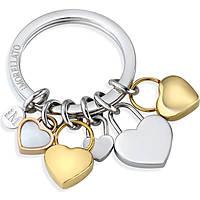 portachiavi donna gioielli Morellato LOVE HEART CHARMS YG WHI STO SD7130