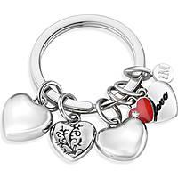 porte-clés femme bijoux Morellato LOVE HEART CHARMS RED ENAMEL SD7132