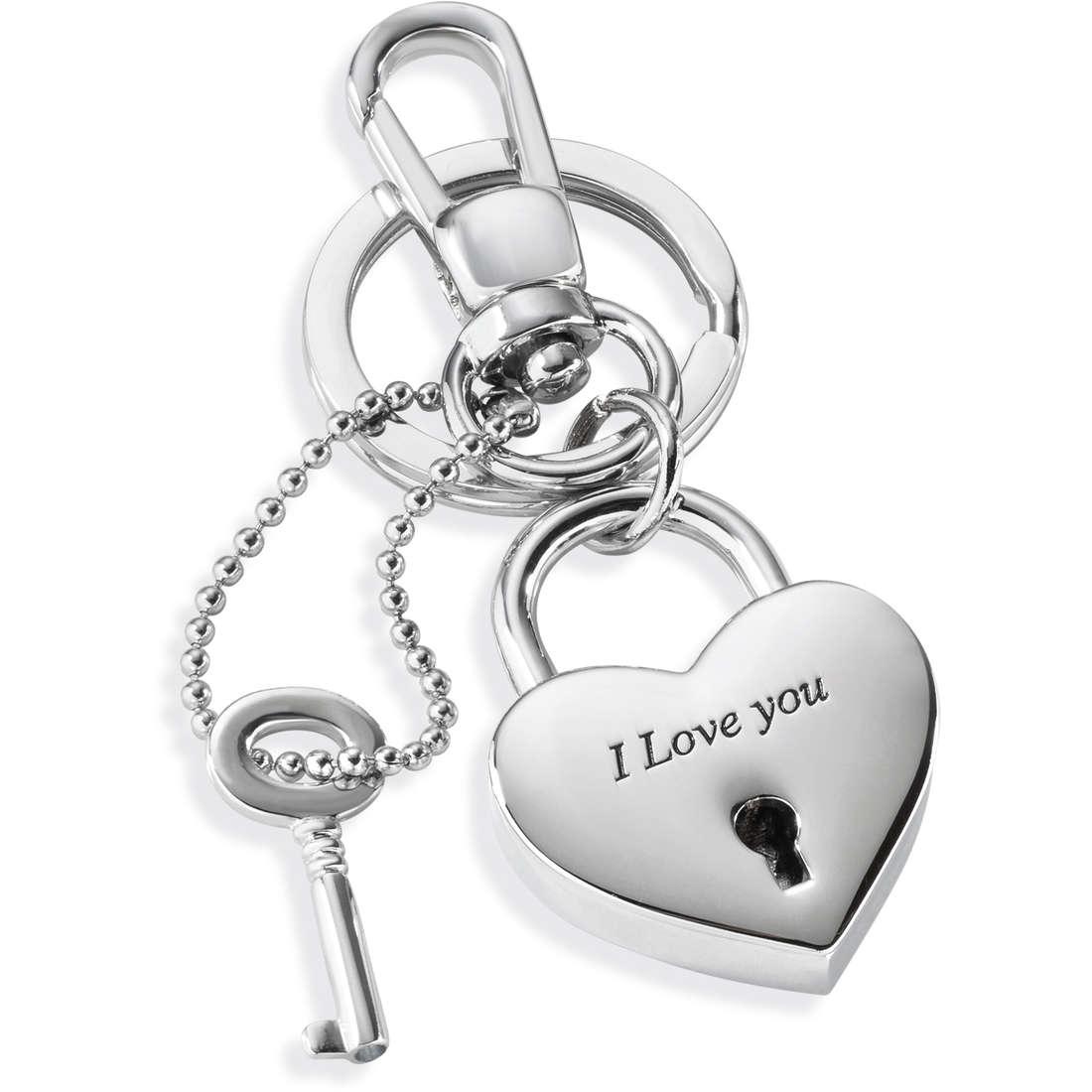 porte-clés femme bijoux Morellato LOVE PADLOCK HEART SD7129