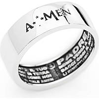 ring man jewellery Amen Padre Nostro APN-24