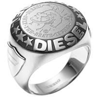 ring man jewellery Diesel Steel DX0182040510