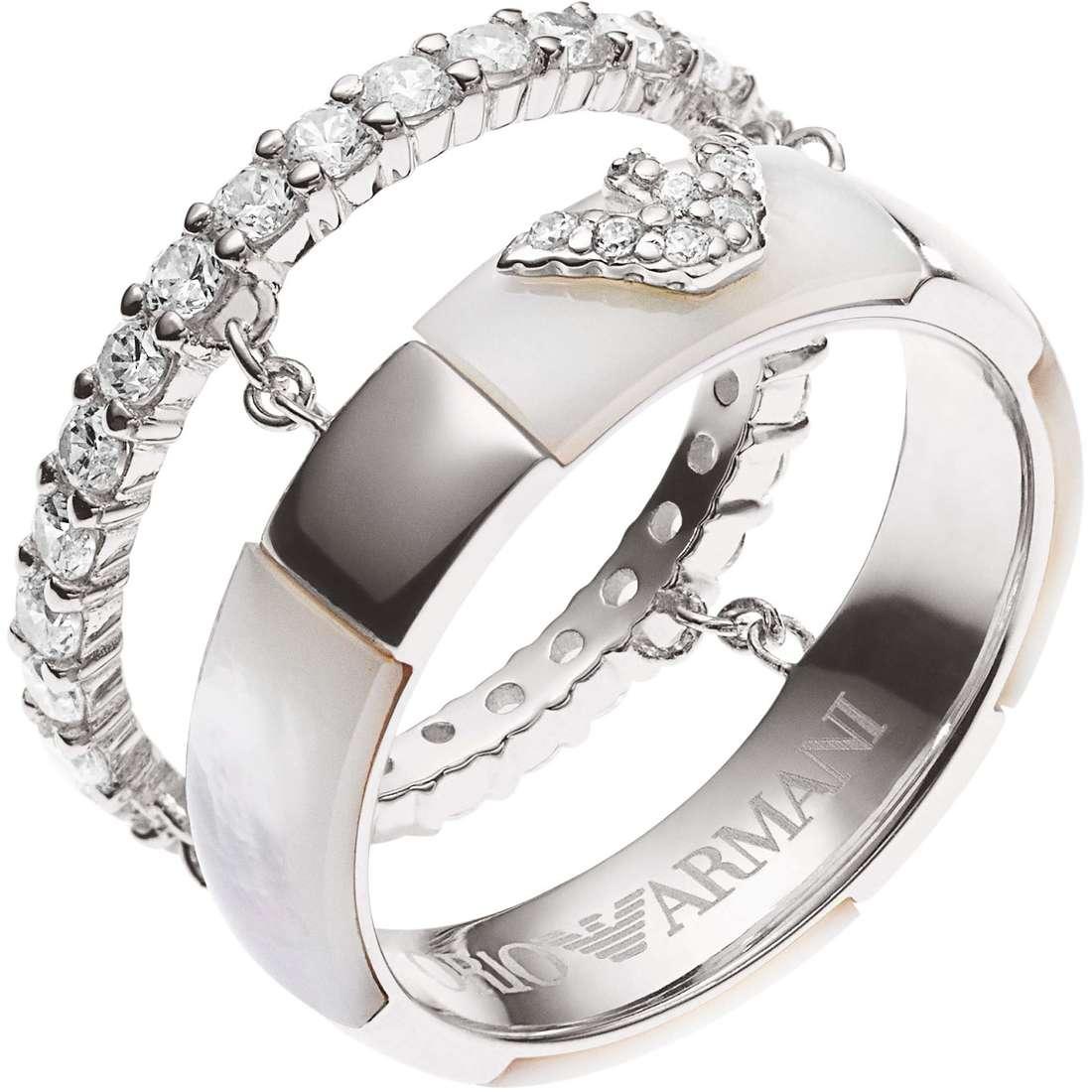 ring man jewellery Emporio Armani EG3119040508