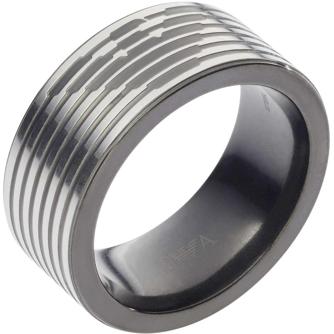 ring man jewellery Emporio Armani Signature EGS2182060514