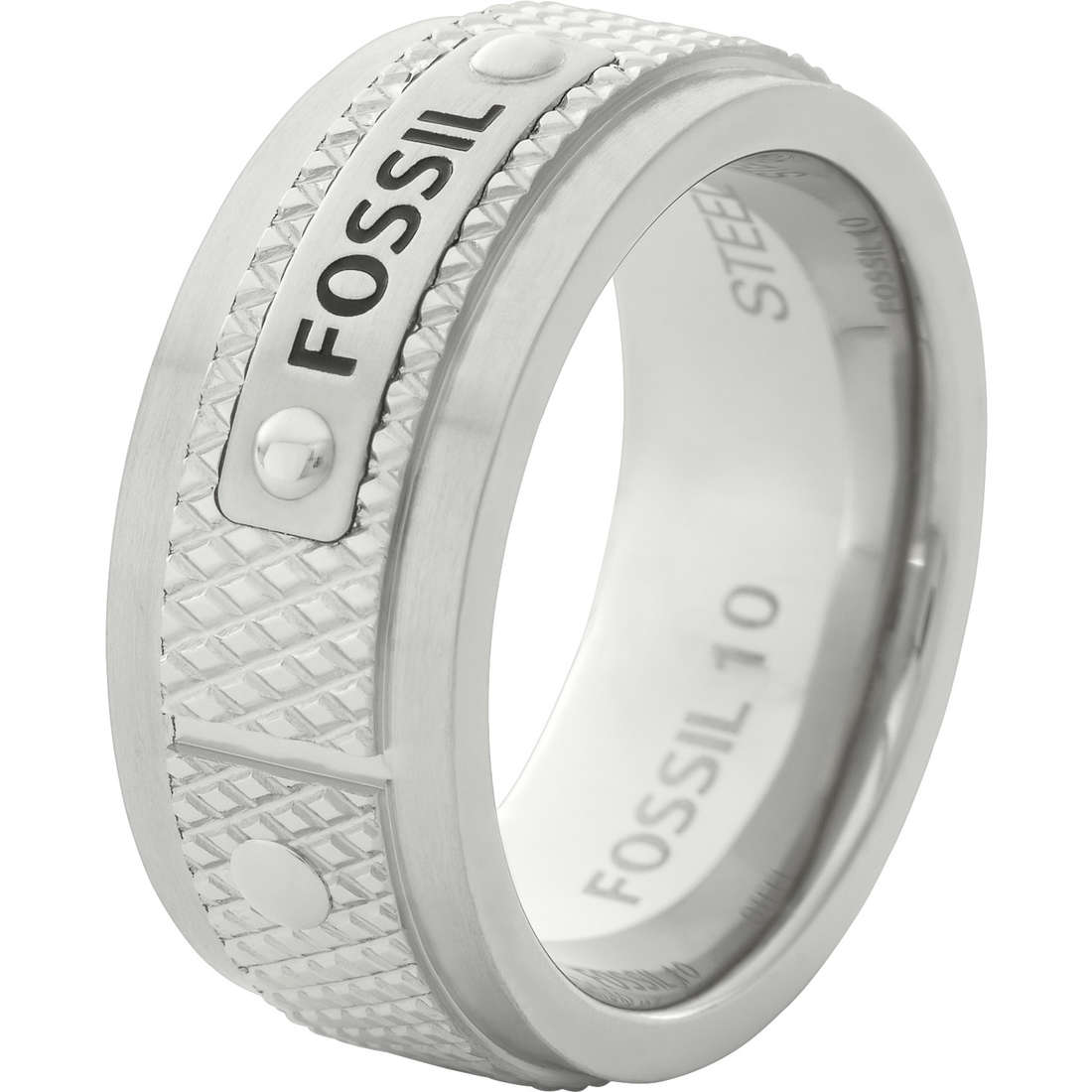 ring man jewellery Fossil JF00065040512