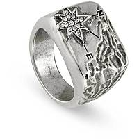 ring man jewellery Nomination North Star 132600/001/007