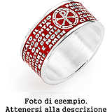 ring unisex jewellery Amen AMS08-14