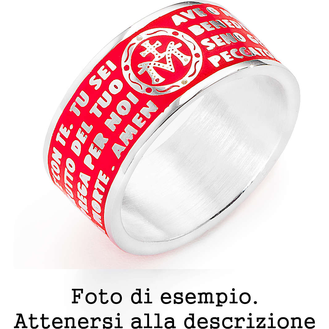ring unisex jewellery Amen AMS10-24