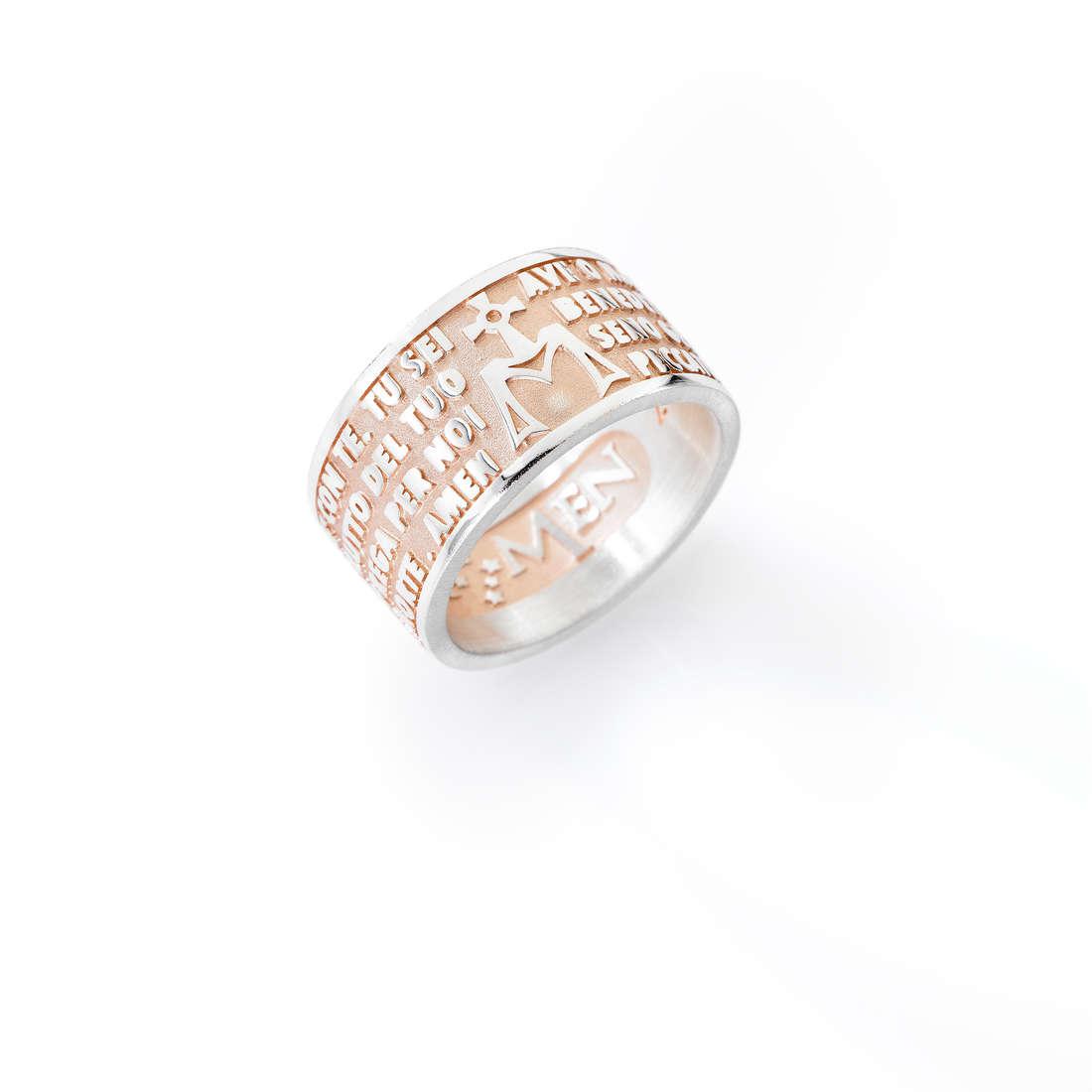 ring unisex jewellery Amen Ave Maria AMR-14
