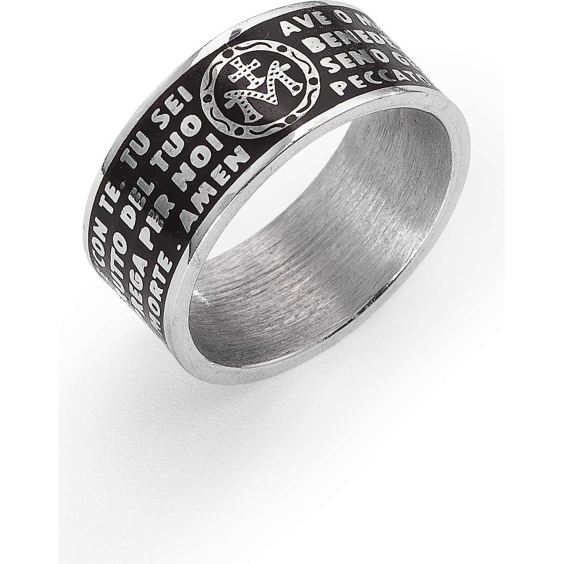 ring unisex jewellery Amen Ave Maria Italiano AMS02925-14
