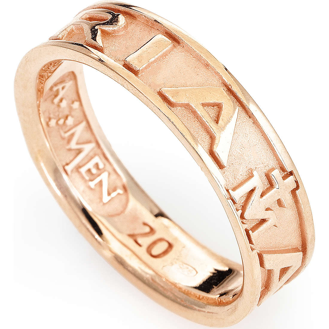 ring unisex jewellery Amen Ave Maria Italiano AVER-12