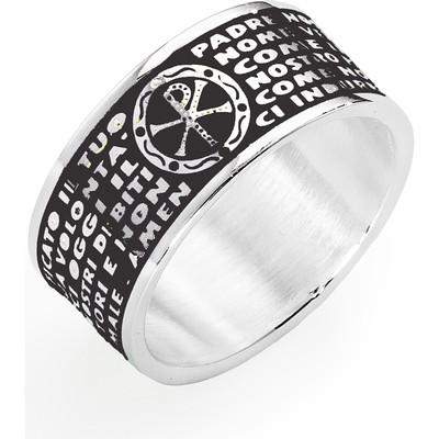 ring unisex jewellery Amen Padre Nostro Italiano PNS02925-12