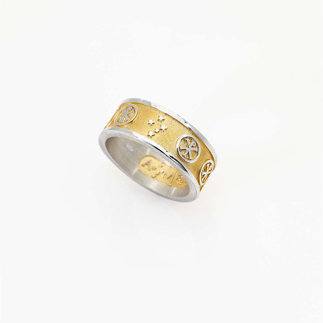 ring unisex jewellery Amen Pax PAXG-14