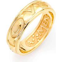 ring unisex jewellery Amen Ti Amo ALOG-12