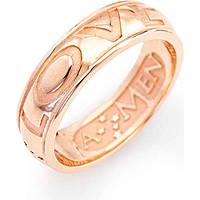 ring unisex jewellery Amen Ti Amo ALOR-10