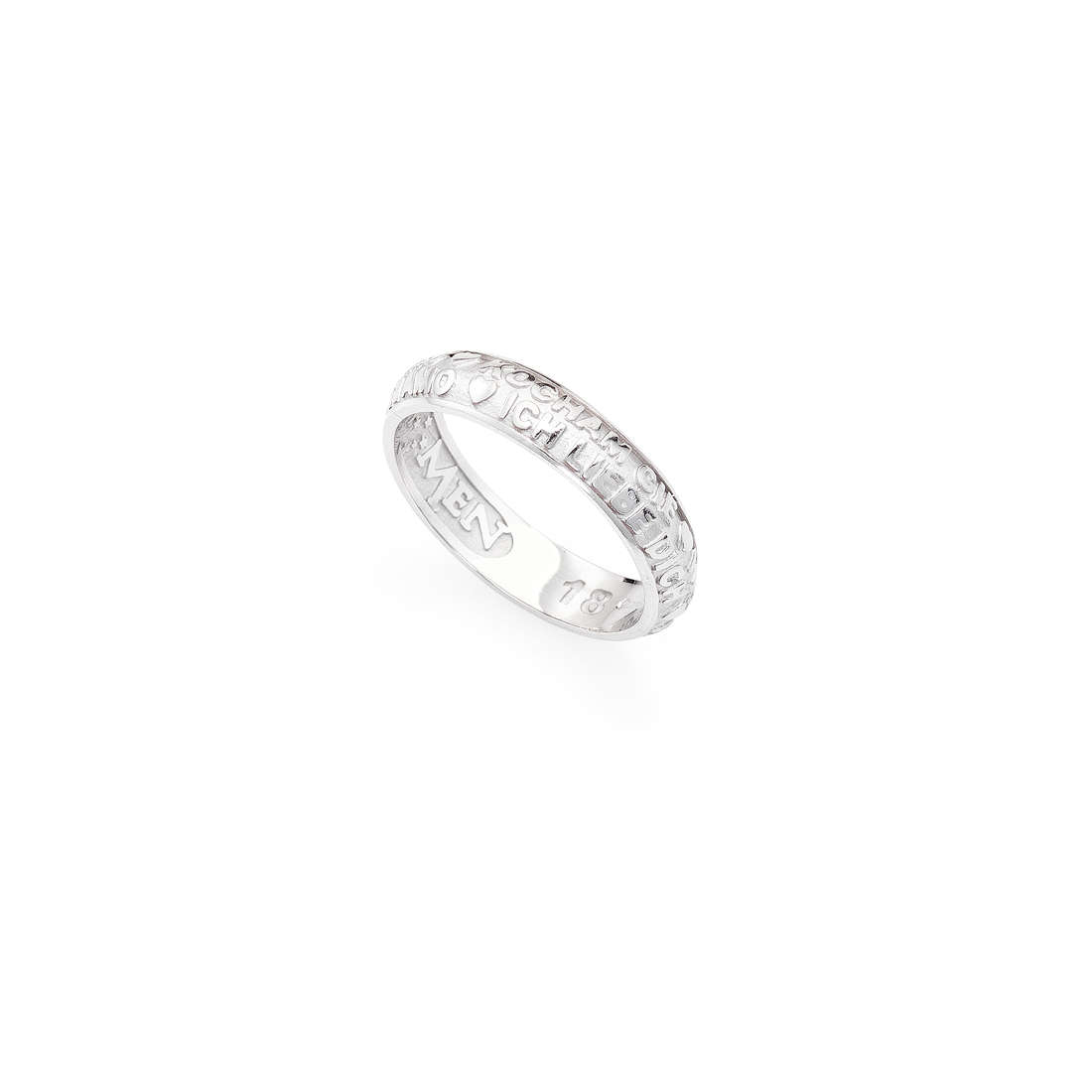 ring unisex jewellery Amen Ti Amo ATAB-10
