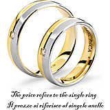 ring unisex jewellery Comete Fedi ANB 1114BG M11