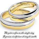 ring unisex jewellery Comete Fedi ANB 1115BG M11