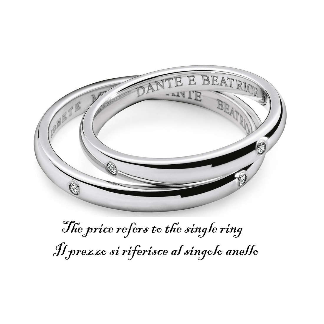 ring unisex jewellery Comete Fedi ANB 1120B M11