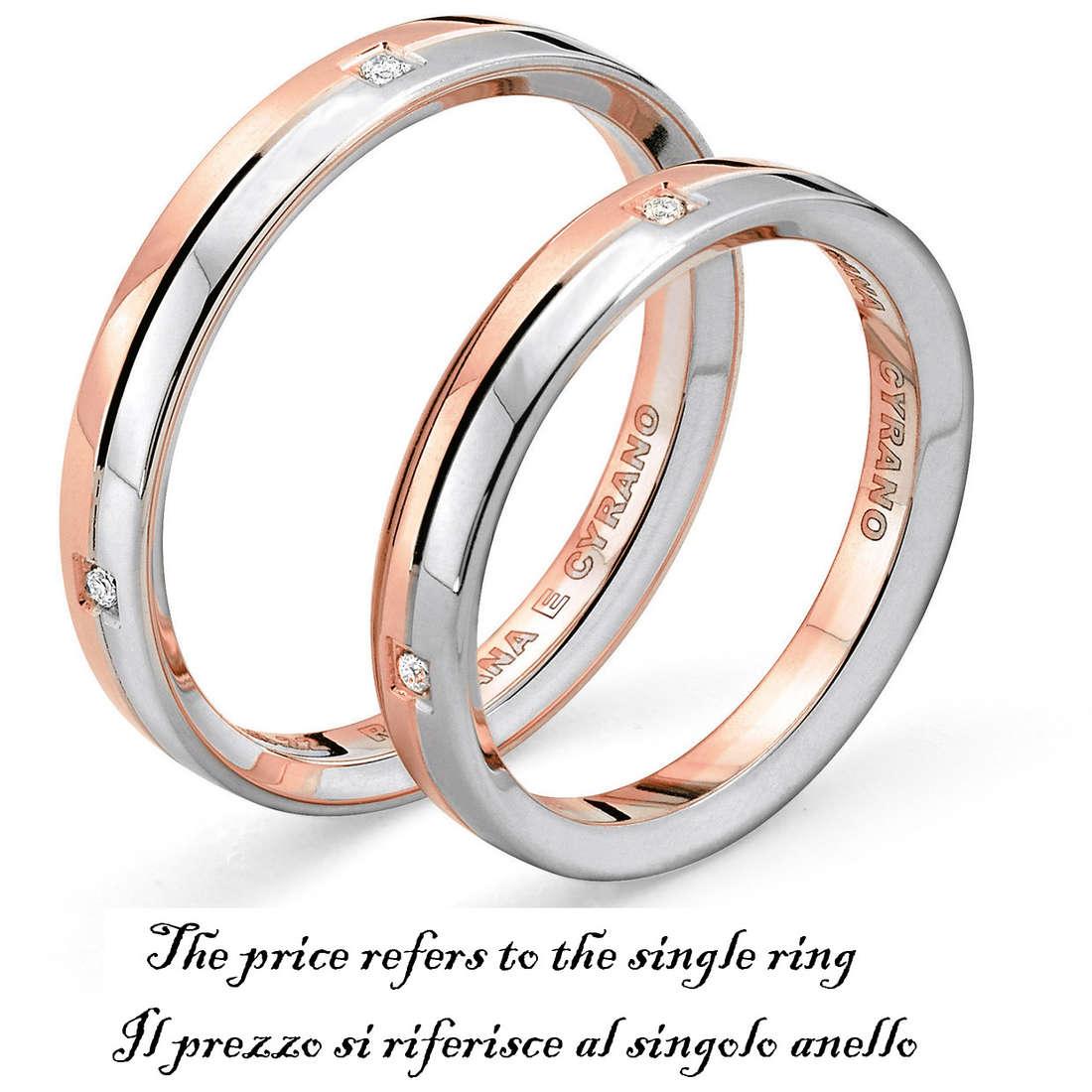 ring unisex jewellery Comete Fedi ANB 1123BR M11