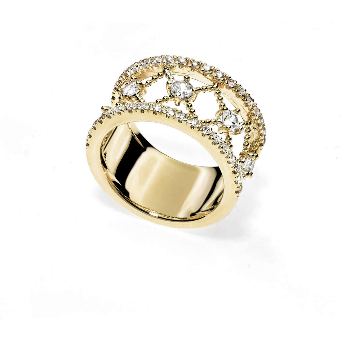 ring woman jewellery Ambrosia Bronzo ABA 003M