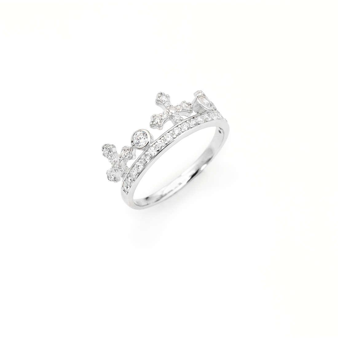 ring woman jewellery Amen Corone AC1-14