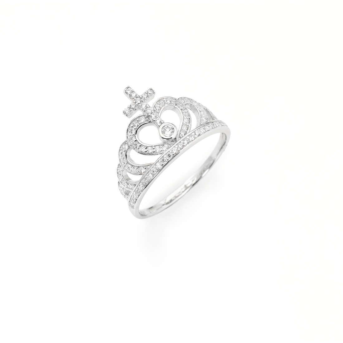 ring woman jewellery Amen Corone AC2-10