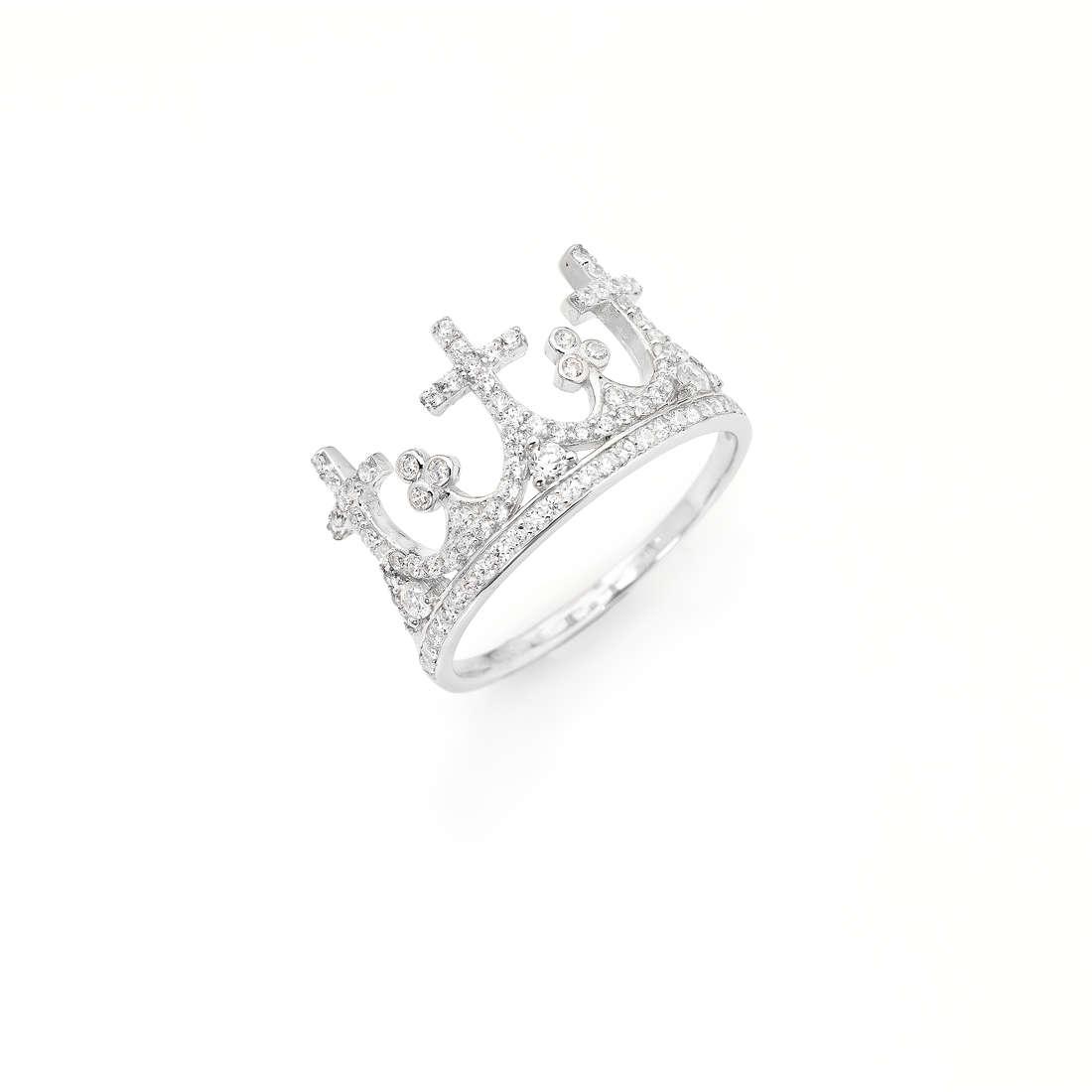 ring woman jewellery Amen Corone AC3-12