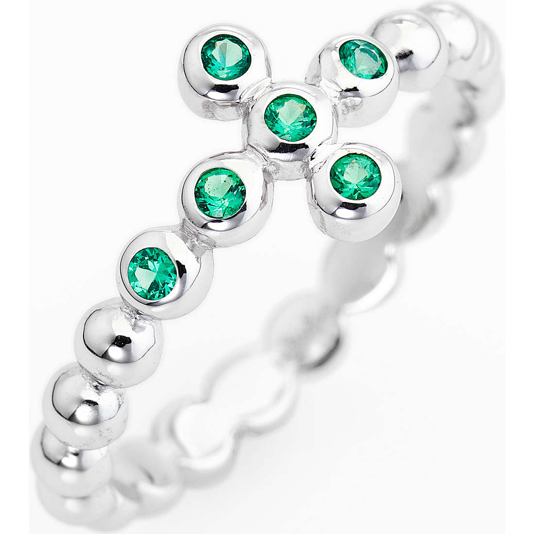 ring woman jewellery Amen Croce ABOBV-10