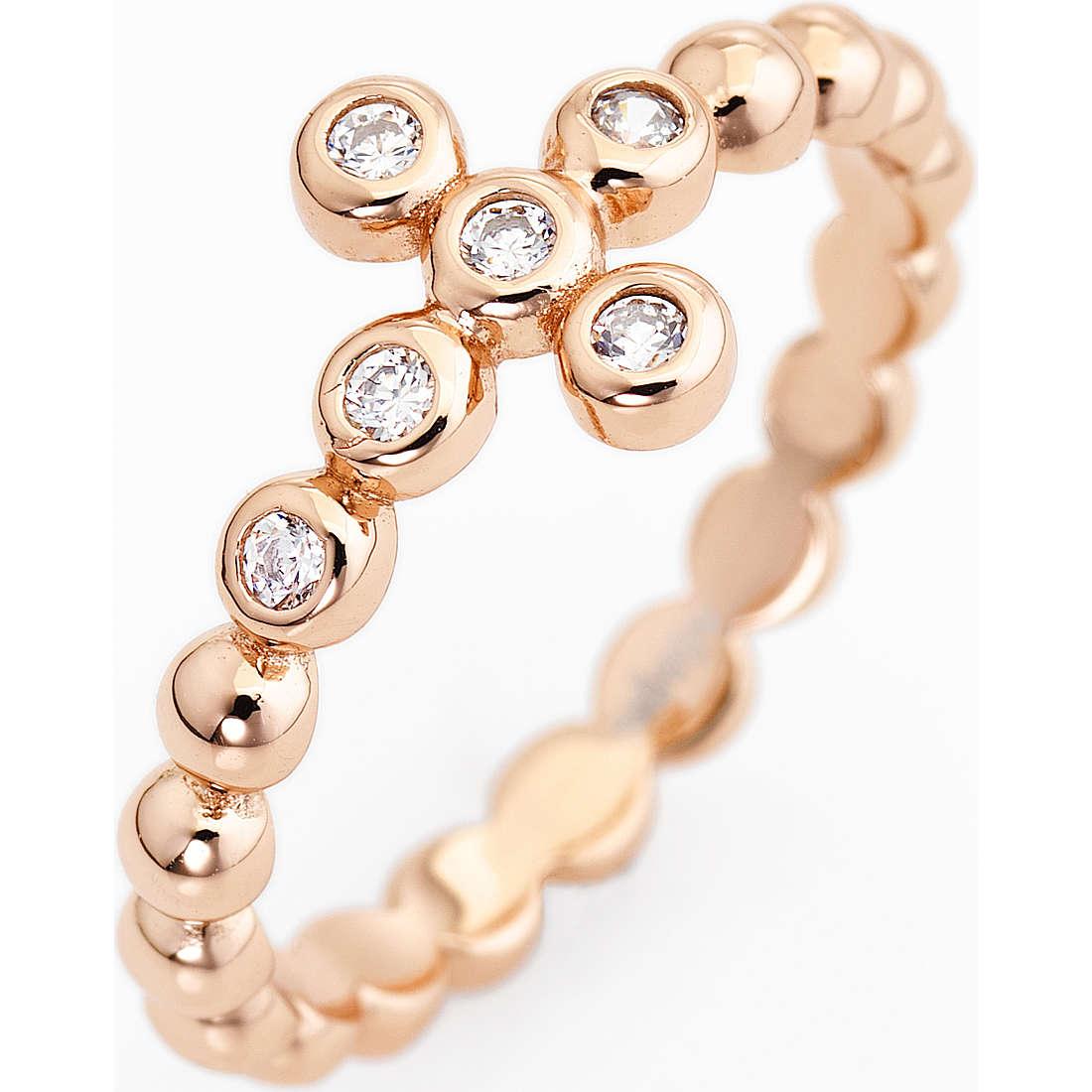 ring woman jewellery Amen Croce ABORB-12