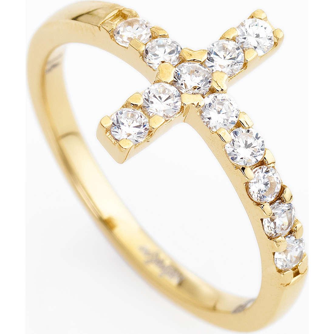 ring woman jewellery Amen Croce ACOGB-12