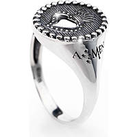 ring woman jewellery Amen Sacro Cuore ASC-14