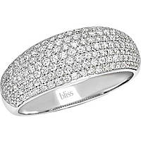 ring woman jewellery Bliss Classic Pave' 20064346