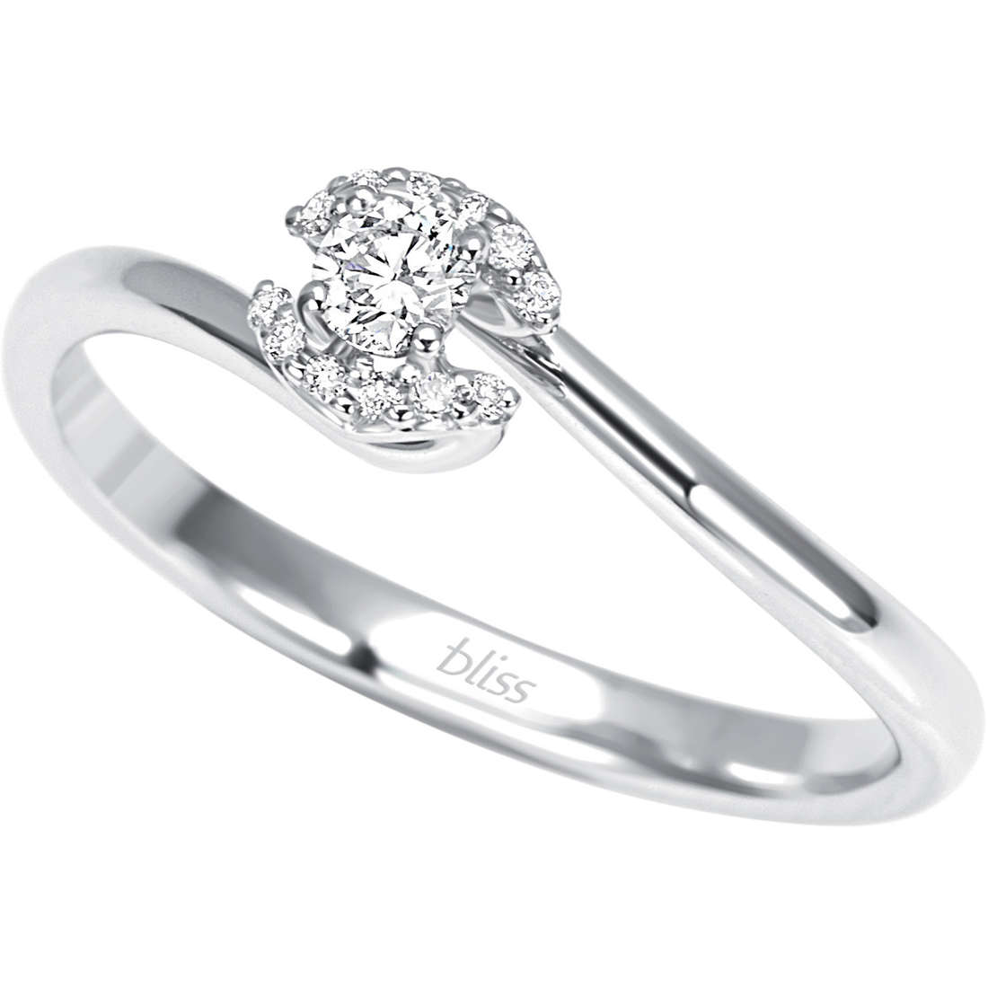 ring woman jewellery Bliss Preludio 20066993