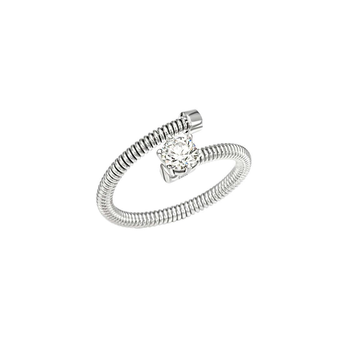ring woman jewellery Bliss Silver Light 20061867
