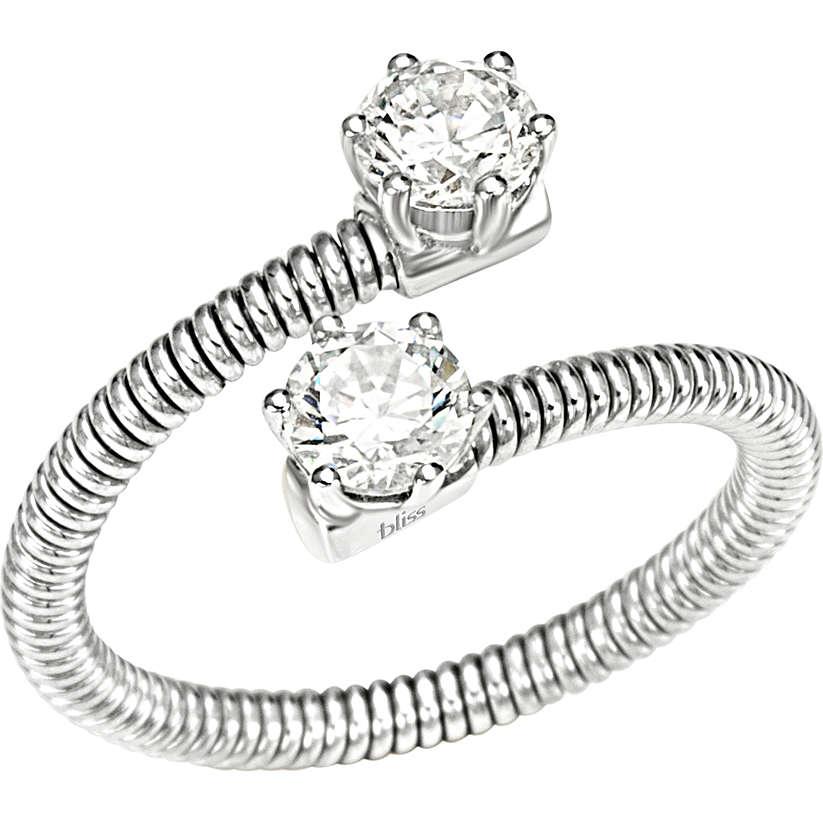 ring woman jewellery Bliss Silver Light 20061870