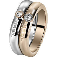 ring woman jewellery Breil Crossing Love TJ1559