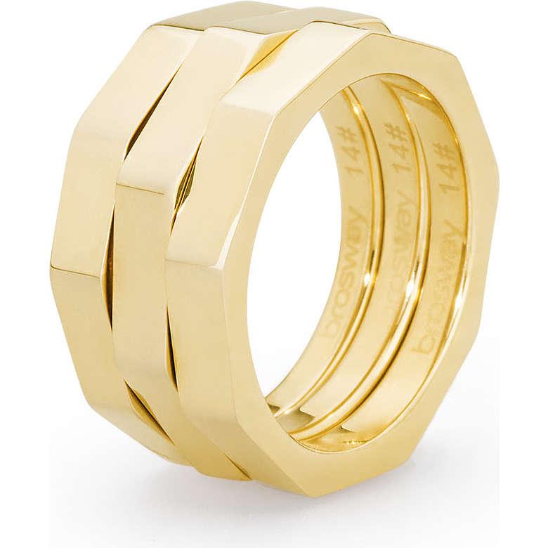 ring woman jewellery Brosway Spirit BPR32B