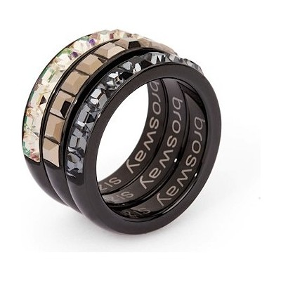 ring woman jewellery Brosway Tring Black Edition BTG12A