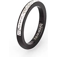 ring woman jewellery Brosway Tring Black Edition BTGC71C
