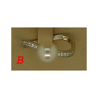 ring woman jewellery Comete ANP 306