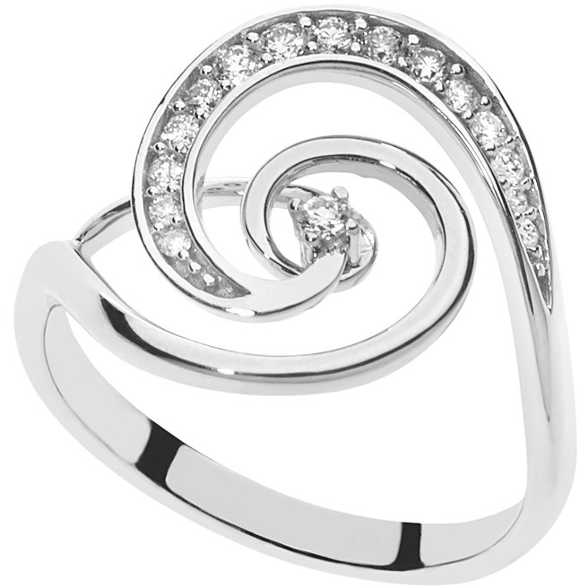 ring woman jewellery Comete Fantasie di diamanti ANB 2179