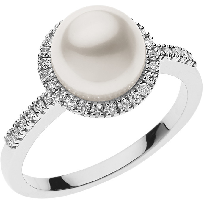 ring woman jewellery Comete Perle ANP 371