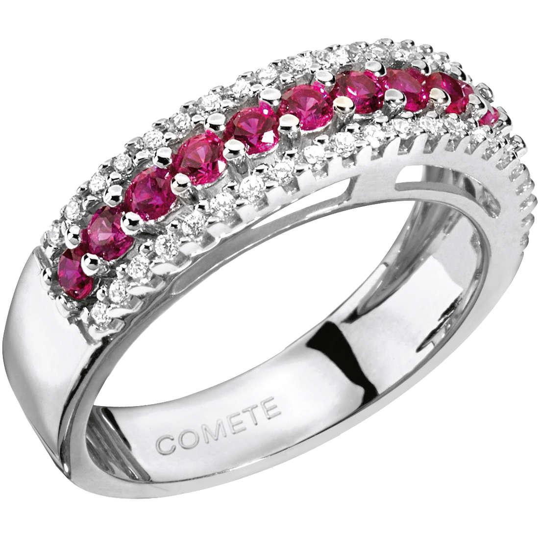 ring woman jewellery Comete Pietre preziose colorate ANB 1149