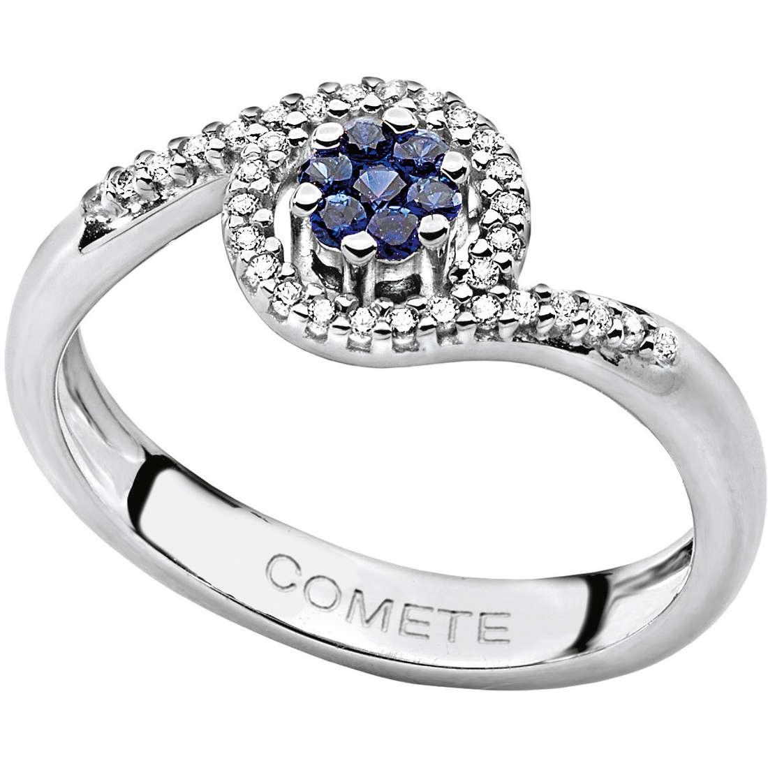 ring woman jewellery Comete Pietre preziose colorate ANB 1386